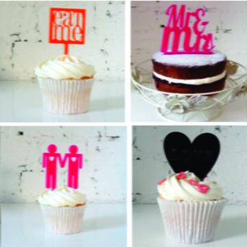 Kit topper para cupcake-personalizado