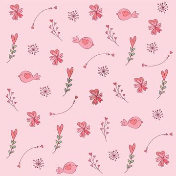 Papel de Parede adesivo Rosa