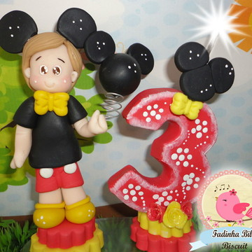 topo bolo personalizado mickey