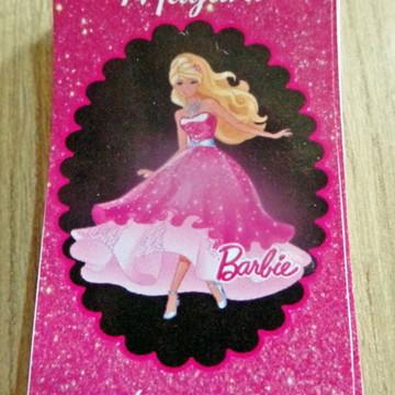 Adesivo Barbie Tubete Pequeno