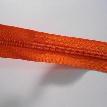Zíper por metro laranja