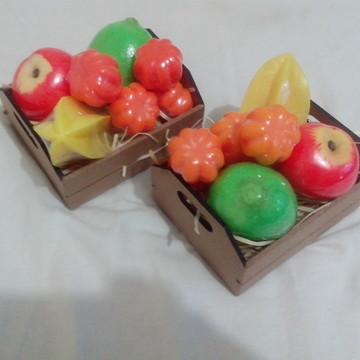 Sabonete frutas