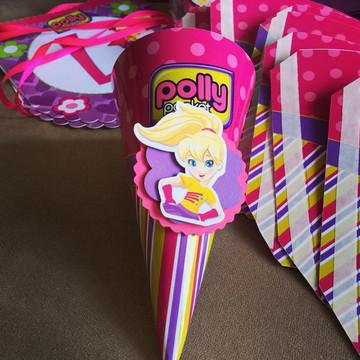 Polly Pocket - Cone para guloseimas