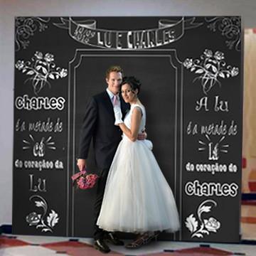 Backdrop para Casamento - Lousa