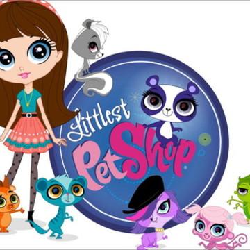 Painel Littlest Pet Shop - Frete Grátis