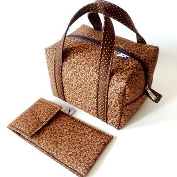 Lunch Bag Térmica/Porta Talher - Pequena