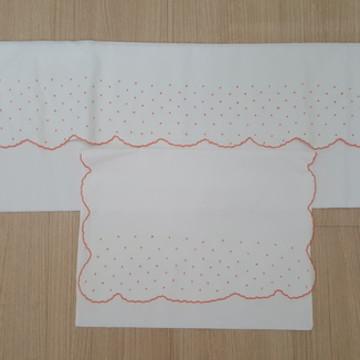 jogo de lençol e fronha berço