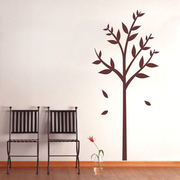 Adesivo de Parede Árvore Bonheur