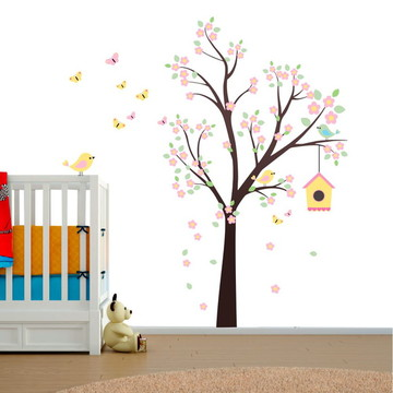 Adesivo de Parede - Árvore Encantada