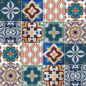 Adesivo Azulejo Mix
