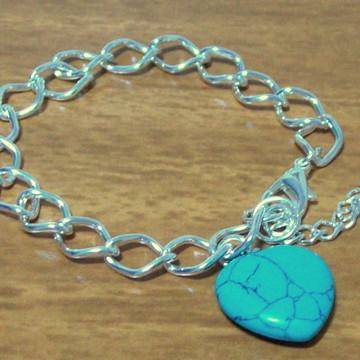 PULSEIRA Semi-jóia Turquêsa