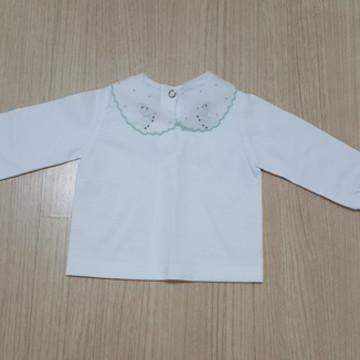 camisa pagão com gola bordada