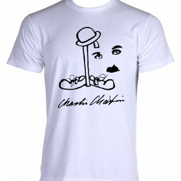 Camiseta charles chaplin carlitos