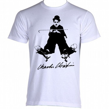 Camiseta charles chaplin carlitos 2