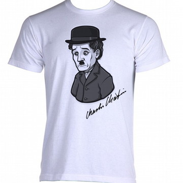 Camiseta charles chaplin carlitos 3