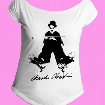 Camiseta charles chaplin gola canoa 2