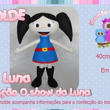 Molde da Luna - Coleção O Show da Luna