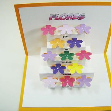 Cartão Flores - cod.10914