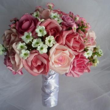 Buque vários tons de rosa