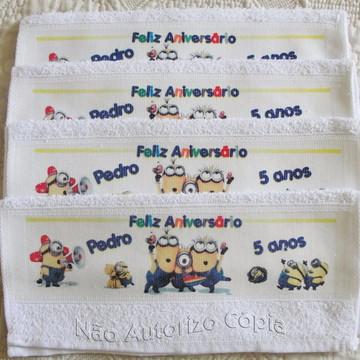 Toalha Lavabinho Personalizadas 100 uni.
