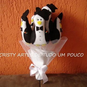 Buque de Pinguim c/ 6 unidades