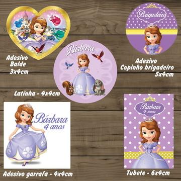 Kit Adesivos de Princesa