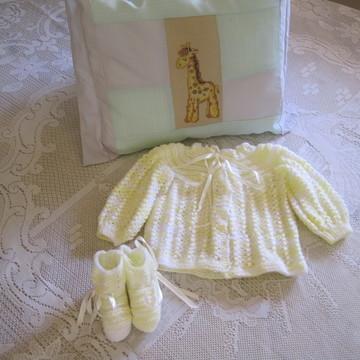Paleto de Trico para Bebê