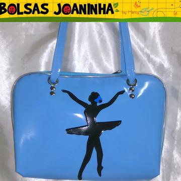 Bolsa Bailarina Bolsa Ballet várias cores
