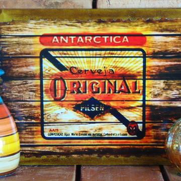 Quadro Vintage - Cerveja Original