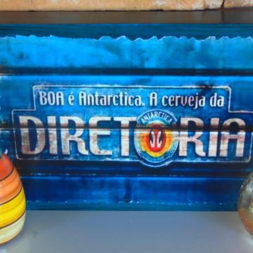 Quadro Vintage - Cerveja Antárctica