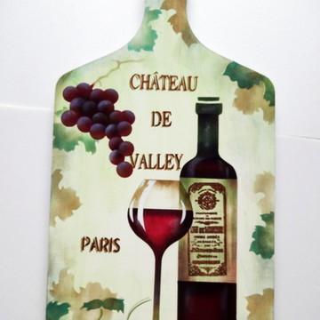 Tábua Decorada Chateau De Valley