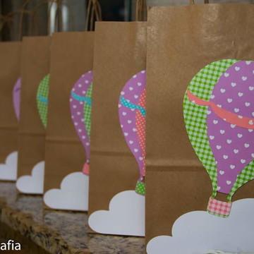 Sacola Para Lembrança - Balões de Ar