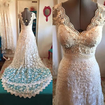 Vestido de noiva Bohemian- Boho chic