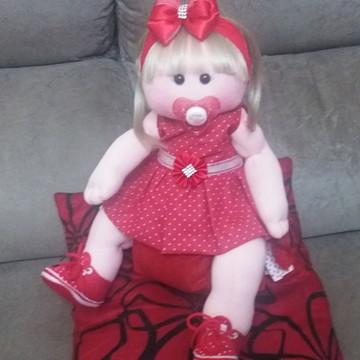 boneca de pano bebe