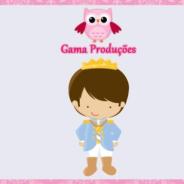 Convite Animado Tema Príncipe Real