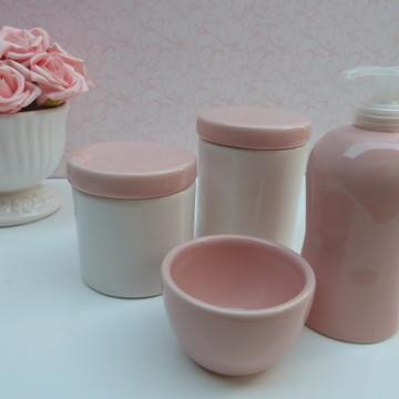 Kit higiene rosa seco sem bandeja