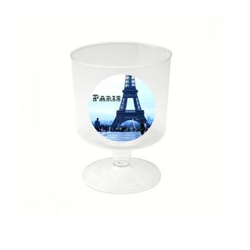 10 Mini Tacinha Tema Paris