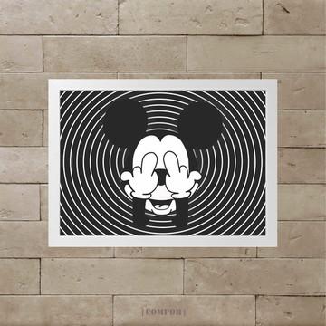 Quadro Mickey A3