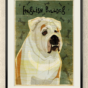 Quadro Cachorro - Quadro para Decoração