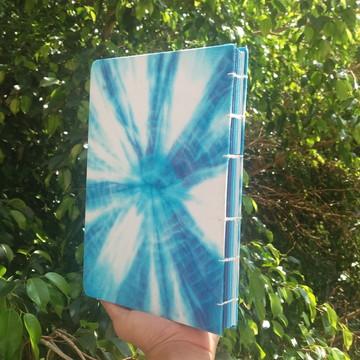 sketchbook Azul Tie Dye