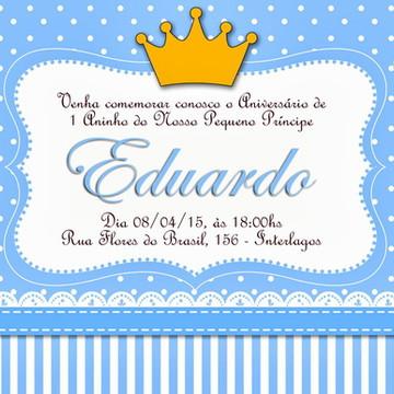 Convite Digital PRINCIPE COROA DOURADA