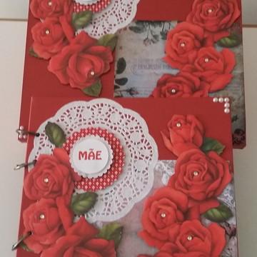 Kit para o Dia das Mães - Álbum+Caixa