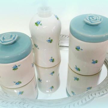 Kit higiene bebe de porcelana