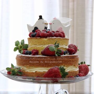 Bolo | Naked Cake | Frutas