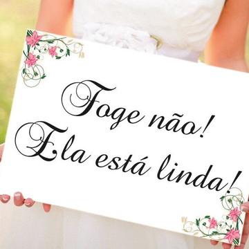 Casamento Placa Daminha e Pajem