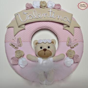 Guirlanda Porta Maternidade Ursinha