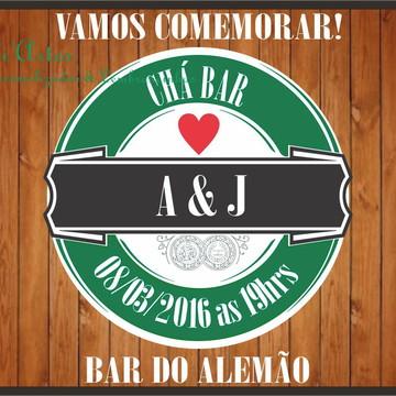 Convite Chá Bar Heineken 2