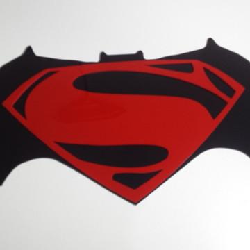 Decoração de parede Batman x Superman