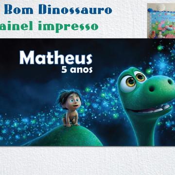 Painel de Parede Impresso Dinossauro