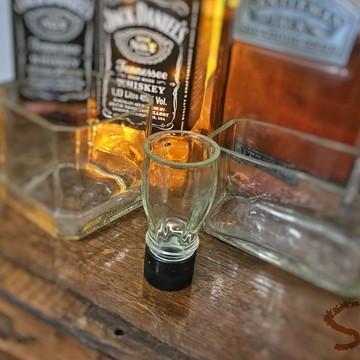 Shot de garrafa Jack Daniel's